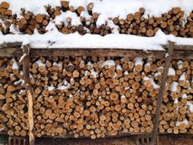 de wintermilieu Royalty-vrije Stock Fotografie