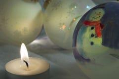 De winternacht Royalty-vrije Stock Foto