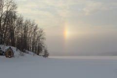 De winterochtend Stock Afbeeldingen