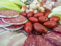 De winterontbijt Stock Foto's