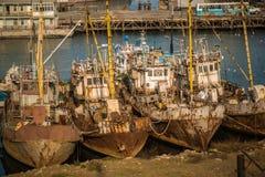 De winteropslag van de Vloot stock afbeelding