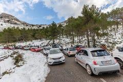 De winteropstopping in Serra Tramuntana Royalty-vrije Stock Afbeelding