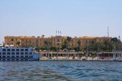 De winterpaleis in Luxor Royalty-vrije Stock Fotografie