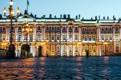 De Winterpaleis van St. Petersburg ` s Stock Fotografie