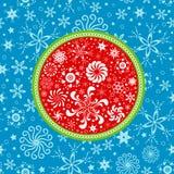De winterpatroon Royalty-vrije Stock Afbeelding