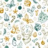 De winterpatroon Royalty-vrije Stock Afbeeldingen