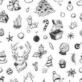 De winterpatroon Stock Afbeeldingen