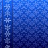 De winterpatroon van de sneeuwvlok Royalty-vrije Stock Afbeelding
