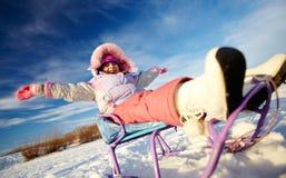 De winterrecreatie Stock Foto