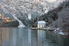 De winterscène, Oostenrijk Royalty-vrije Stock Foto's