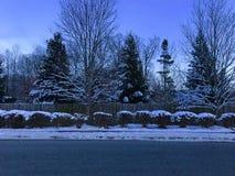 De wintersprookjesland Stock Foto