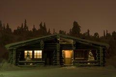 De wintersprookjesland van Lapland Royalty-vrije Stock Afbeeldingen
