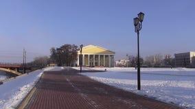 De winterstad Vitebsk