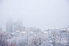 De winterstemming Stock Foto