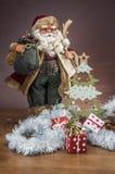 De winterthema, Kerstmisvooravond Stock Afbeelding