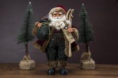 De winterthema met decoratie Royalty-vrije Stock Fotografie