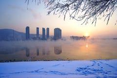 De wintertijd Royalty-vrije Stock Foto's