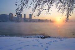De wintertijd Stock Afbeelding