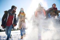 De wintervakantie stock afbeelding