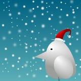 De wintervogel stock illustratie