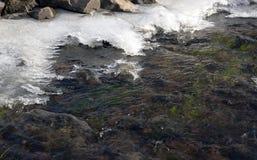 De winterwater royalty-vrije stock foto
