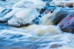 De winterwateren royalty-vrije stock afbeeldingen