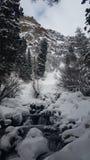 De winterwateren Stock Afbeeldingen