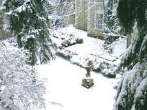 De winterwerf Stock Foto's
