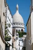 de wioska Montmartre Paris Obraz Stock