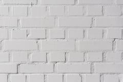 De witte achtergrond van de bakstenen muurtextuur royalty-vrije stock foto