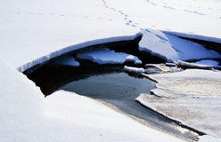 De witte achtergrond van de de wintertextuur van de ijssneeuw Royalty-vrije Stock Afbeeldingen