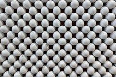 De witte achtergrond van het ballenpatroon Stock Foto's