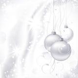 De witte achtergrond van Kerstmis royalty-vrije illustratie