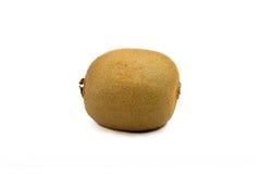 De witte achtergrond van Kiwi Fruit Royalty-vrije Stock Afbeeldingen