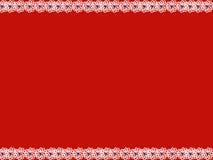 De witte banner van het bloem blauwe hart Royalty-vrije Stock Afbeeldingen