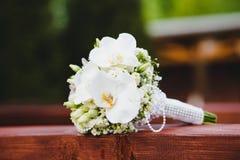 De witte bloemen van het Huwelijk Royalty-vrije Stock Fotografie