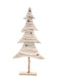 De witte boom van Kerstmis Royalty-vrije Stock Foto's