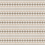 De witte en Bruine Polka Dot Abstract Design Tile Pattern herhaalt B Royalty-vrije Stock Fotografie