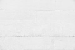 De witte gestreepte achtergrond van de muurtextuur Stock Fotografie