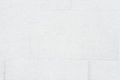 De witte gestreepte achtergrond van de muurtextuur Royalty-vrije Stock Afbeelding