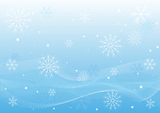 De Witte Golven van de winter stock illustratie