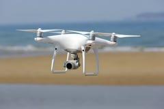 De witte helikopter van de hommelvierling Stock Afbeeldingen
