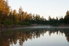 De witte Kampeerterreinen van het Paardmeer, Williams, AZ Royalty-vrije Stock Fotografie