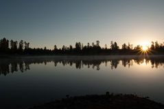 De witte Kampeerterreinen van het Paardmeer, Williams, AZ Royalty-vrije Stock Foto's
