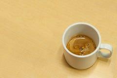 De witte Kop van de Koffie Stock Fotografie