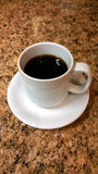 De witte Kop van de Koffie Stock Afbeelding