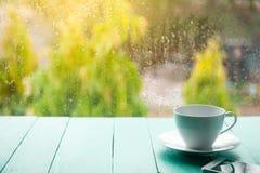 De witte Kop van de Koffie stock afbeeldingen