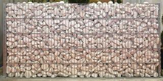 De witte Muur van de Steen Royalty-vrije Stock Afbeelding