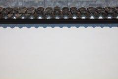 De witte muur van het cement voor vulling in een tekst Stock Foto's