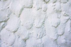 De witte overspannen textuur van de steenmuur Royalty-vrije Stock Foto